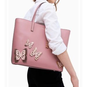 NWOT Kate Spade NY ALL THE BUZZ BUTTERFLY TOTE